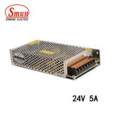 Smun S-120-24 120W 24V 5A Single Output Switching Power Supply