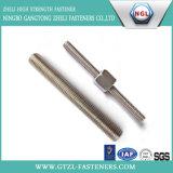 Dacromet Coating Carbon Steel Thread Rod, Thread Rod with Nut
