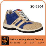 Outdoor Sports Safety Shoes Climbing and Hiking Safety Shoes Sc-2504