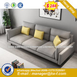 Modern Europe Design Steel Metal Leather Waiting Office Sofa (HX-8NR2245)