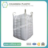 White FIBC Big Bulk Packing Bag with Top Fill Spout