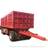 Customized 2-3 Axles Drawbar Full Trailer Dolly Trailer (Cargo Stake 10T -40T)