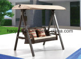 Outdoor /Rattan / Garden / Patio / Hotel Furniture Rattan Swing Chair with Waterproof Cover (HS 1098SC)