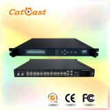 with 4cvbs Input and RF Output DVB-C Encoder Modulator Support SD