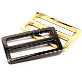 Hot Sale Metal Zinc Alloy Center Bar Slider Buckle for Bag Parts Belt Buckle Shoes Leather Goods Accessories (YK956A)