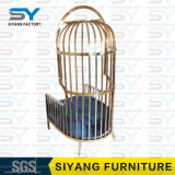 Hotel Furniture Steel Chair Banquet Chair Modern Leisure Chair