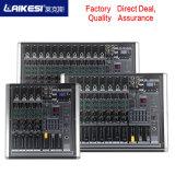 Laikesi Aduio Professional 8 Channel Audio Console/Karaoke Mixer Amplifier