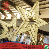 LED 3D Outdoor Huge Star Shape Motif Light for Christmas Holiday Decoration