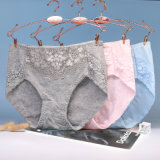 d53354d77b6c Women's Middle-Waisted Crotch of Cotton Pure Cotton Indentation  High-Quality Underwear