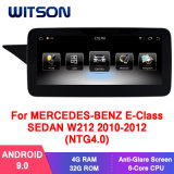 Witson Android 9.0 Car Multimedia Player for Mercedes-Benz E-Class Sedan C207 A207 2010-2012 (NTG4.0) Vehicle Radio