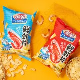 Shrimp-Flavored Leisure Puffed Food