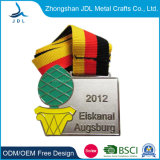 Stamped Brass Soft Enamel Sports Metal Medal for Promotion (041)