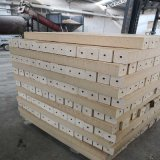 Hot Sale High Density Fumigation Free Moulded Wooden Chip Block to Making Pallets Feet