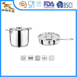 Stainless Steel Kitchenware Frypan & Saucepan (BTY-2024)