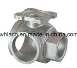 Stainless Steel Precision Lost Wax Casting Pipe Valve with Machining