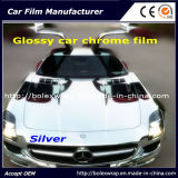 Silver Glossy Chrome Film Car Vinyl Wrap Vinyl Film for Car Wrapping Car Wrap Vinyl