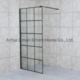 Black Aluminum Wali -in Shower Enclosure