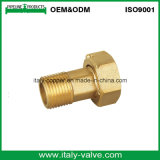 Customized Brass External Thread Joint Hose Fitting (AV-BF-7048)