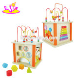 New Fashion Multi 5 Cube Wooden Activity Baby Boy Toys for Education W11b181