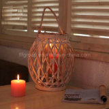 Top Quality Customized Antique Hanging Wood Lantern with Handle