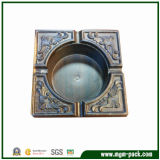 China Classical Wooden Craft Cigarette Ashtray for Home Decoration
