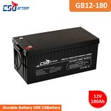 Csbattery 12V180ah Emergency Power AGM Battery for Electric Vehicle China Manufacturer