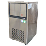 35kgs Self-Contained Stainless Steel Cover Cube Ice Maker