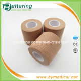 Skin Colour Sports Cotton Elastic Adhesive Bandage