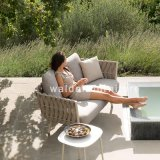 Foshan Walden New Outdoor Garden Furniture Rope Patio Furniture Hotel Sofa Sets Rattan Wicker Furniture