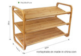 New 2-Tier & 3-Tier Bamboo Rack for Home & Hotel