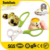 Cutting Quail Egg Kitchen Scissors with Plastic Handle