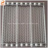 304 316 Stainless Steel Chain Link Type Conveyor Belt