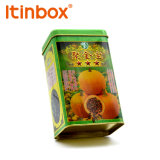 Four Color Printing Custom Tea Tin Cans