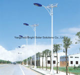 80W Solar Street Light System, Lighting Effect Equal to 350W High Pressure Sodium Lamp