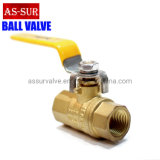 Ce Approved Industrial Safety Radiator Water Gas Brass Ball Valve