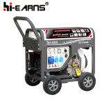 Portable Air-Cooled Electric Low Fuel Consumption Rate Armrest Open Type Hot Sale Diesel 10kw