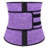 Wholesale Big Size Front Zipper with Elastic Sticker Straps Waist Trainer Slimming Belt Corset