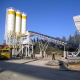 Detong Vibrating Mixing Plant Twin-Shaft Concrete Mixer