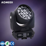 LED Beam Dye Zoom Moving Head Stage Lights 19X10W 4in1