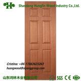 New Design Moulded Wood Veneer Door Skin