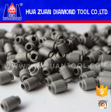 7.2mm Sintered Diamond Wire Saw Beads for Stone Profiling Cutting