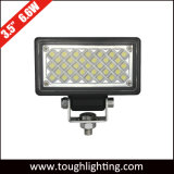 12 Volt 3.5 Inch Square 6W Mini LED Flood Truck Tractors Headlight