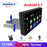 Adjustable 1DIN FM 7 Inch Car Stereo Radio Android 9.1 Contact Screen 1080P Car Radio Player Quad-Core GPS Navigation