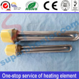 Threaded Tube Round Flange Tubular Heater Heating Element