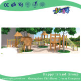 Wholesale Nursery School Wooden Toy Outdoor Playground (HJ-15405)