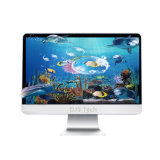 23.6 Inch Intel Core J1900 Linux TV PC Computer All-in-One PC