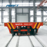 Conducting Railways Powered Transfer Vehicle for Heavy Loads Transportation