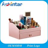 New Style Leather Jewelry Home Multipurpose Perfume Cosmetic Makeup Storage Box