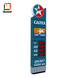 Standing Pylon Advertising LED Gas Price Sign Board Petrol StationCNG Home Filling Station Steel Tube for Gas Station