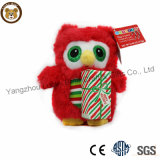 Wholesale Holiday Gifts Red Owl Toy for Baby Girls
